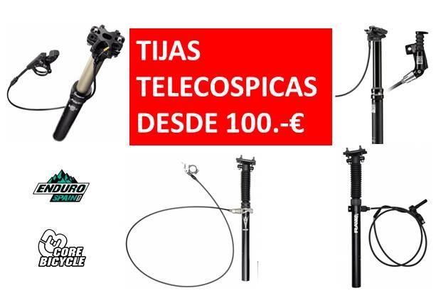 TIJAS TELESCOPICAS
