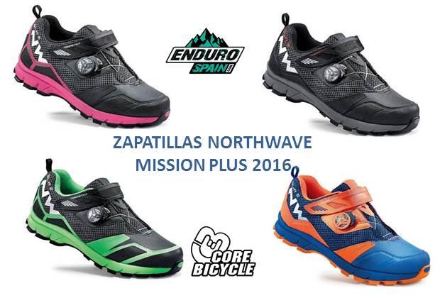 calzado de ciclismo Northwave de enduro y all mountain para montaña/MTB/BTT MISSION PLUS