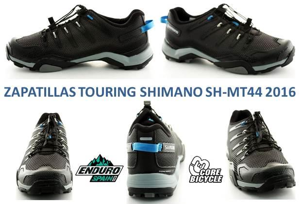 anuncio zapatillas SHIMANO SH-MT44 2016