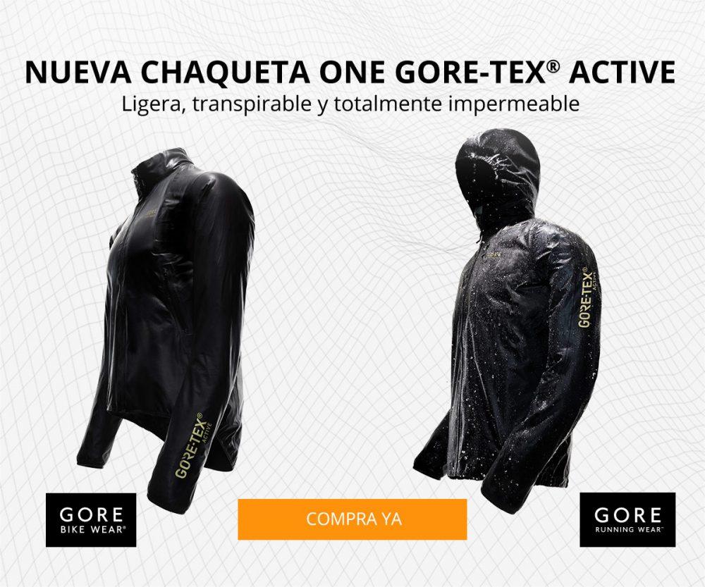 Agua Al Nueva One Chaqueta Gore Active Tex Repelente R1qHgWUz0