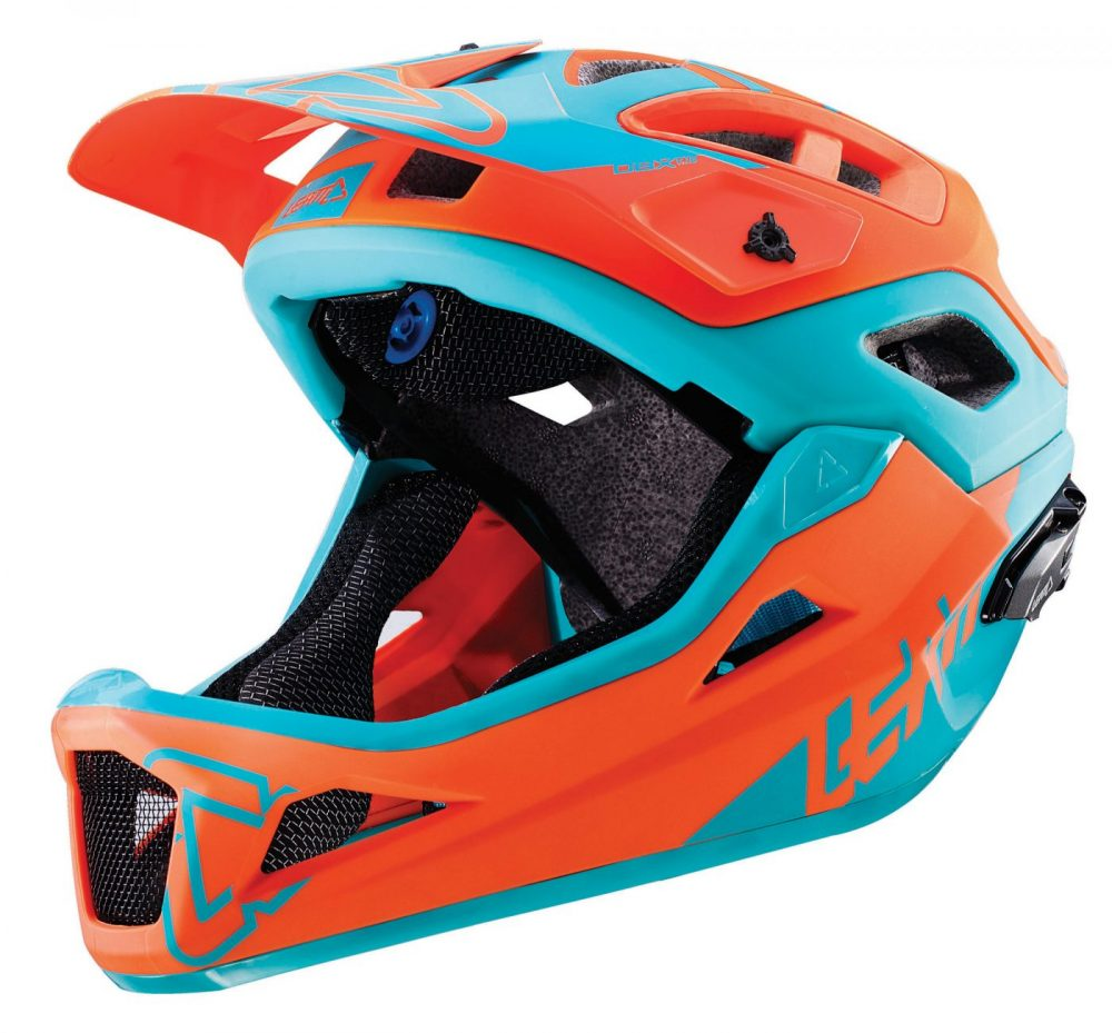 Helmet-DBX-3.0-Enduro-V1-Orange-Teal-1
