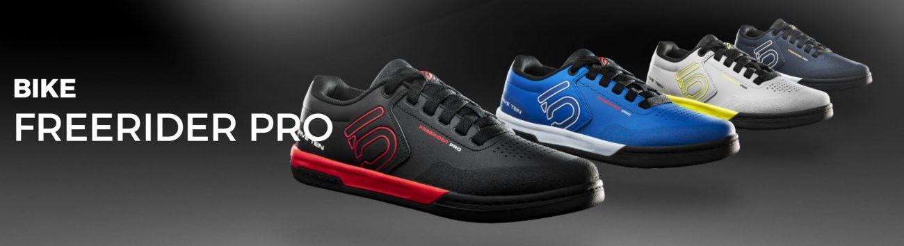 Nuevas zapatillas-calzado ciclismo Five ten para pedal de plataforma: Freerider pro 2017-2018 para hombre y mujer