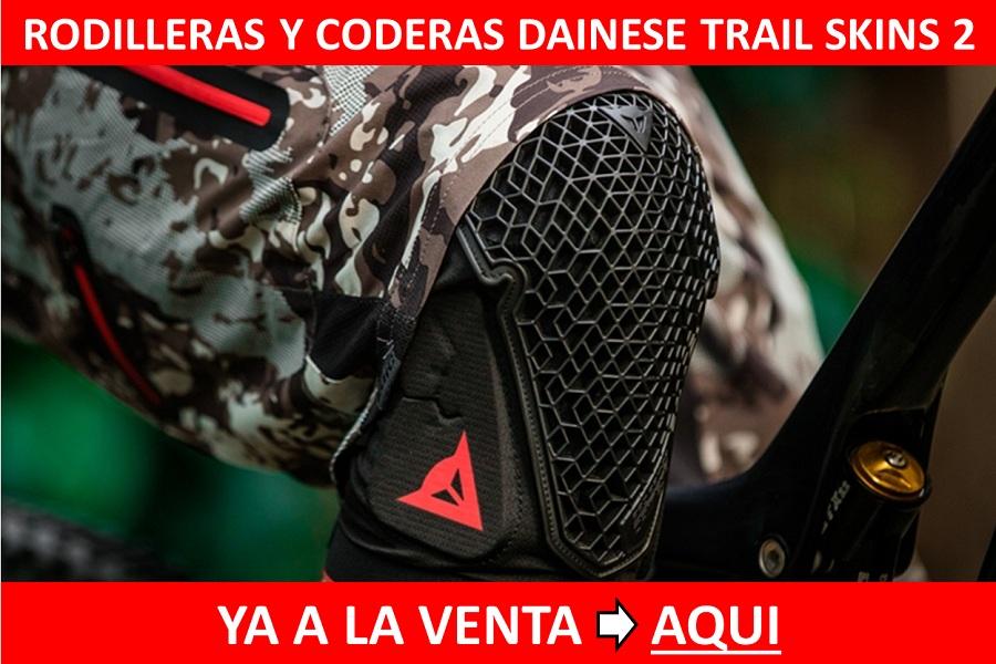 Rodilleras Dainese Trails Skins 2