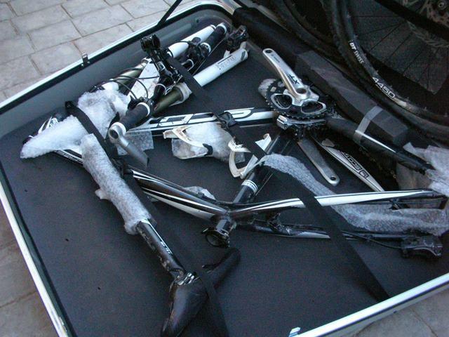 Como proteger para viajar con la bicicleta