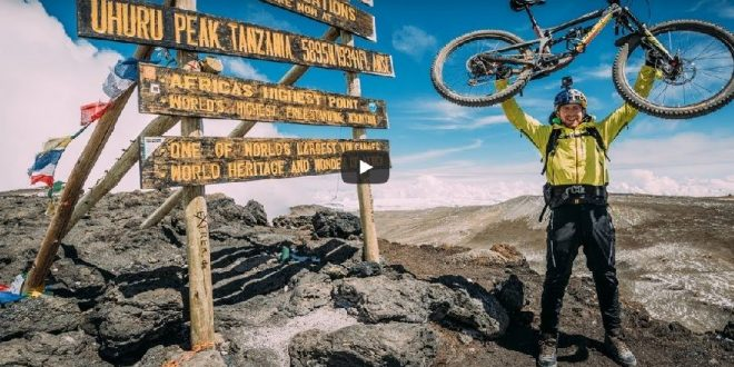 Danny MacAskill en el Kilimanjaro