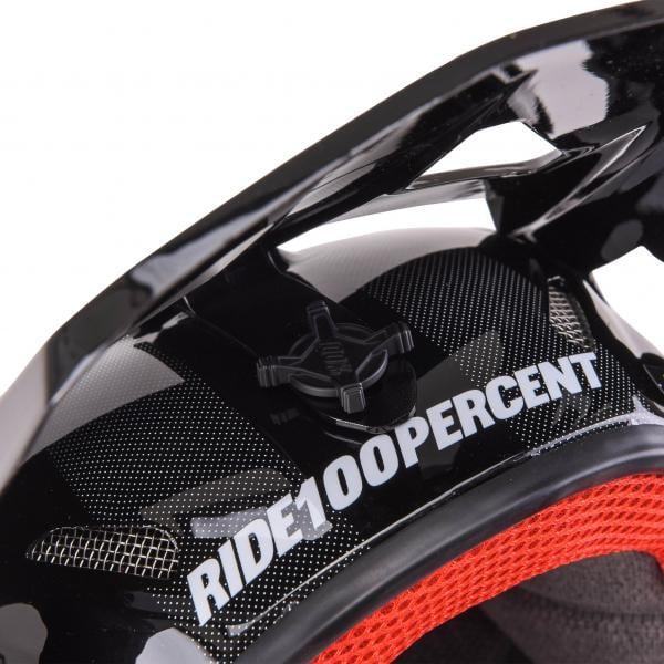 Nuevo casco integral 100% STATUS - enduro, freeride y descenso