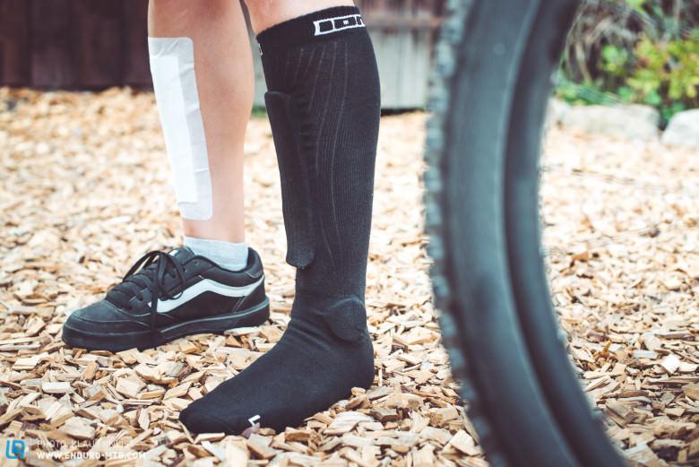 Calcetines con protección para tobillo y espinilla ION BD-Socks 2.0 2018