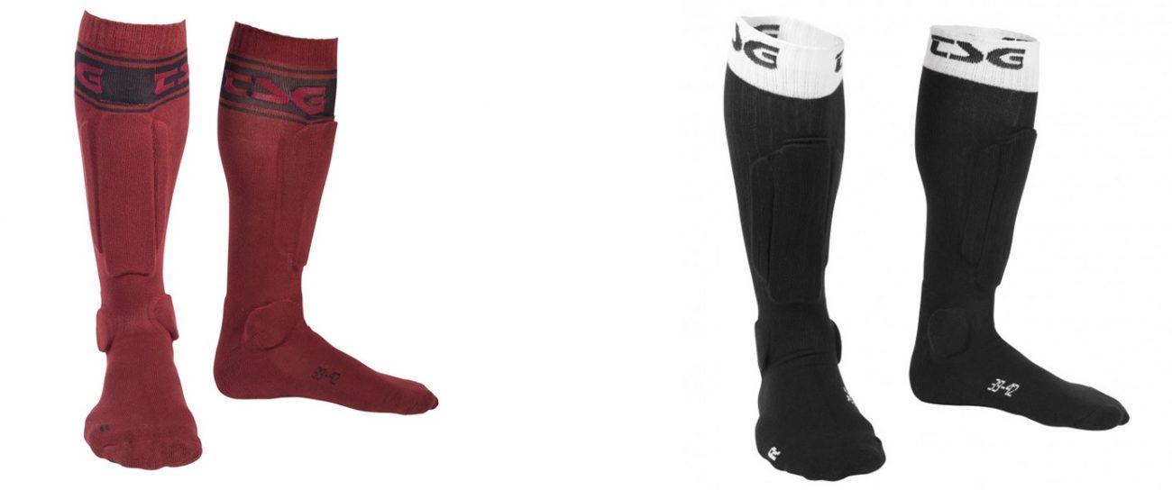 TSG Riot Sock: Calcetines para enduro/downhill/freeride MTB con protecciones