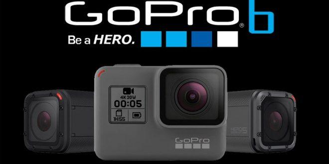 Gopro 6 nueva camara vídeo áccion para bicicleta de montaña 4k