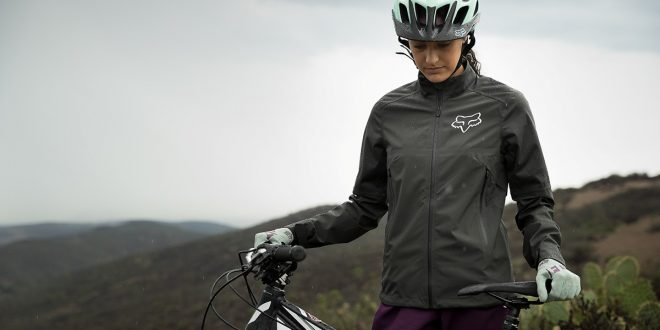 Chaqueta Fox Racing Water Attack para mujer 2018 - cortavientos, impermeable