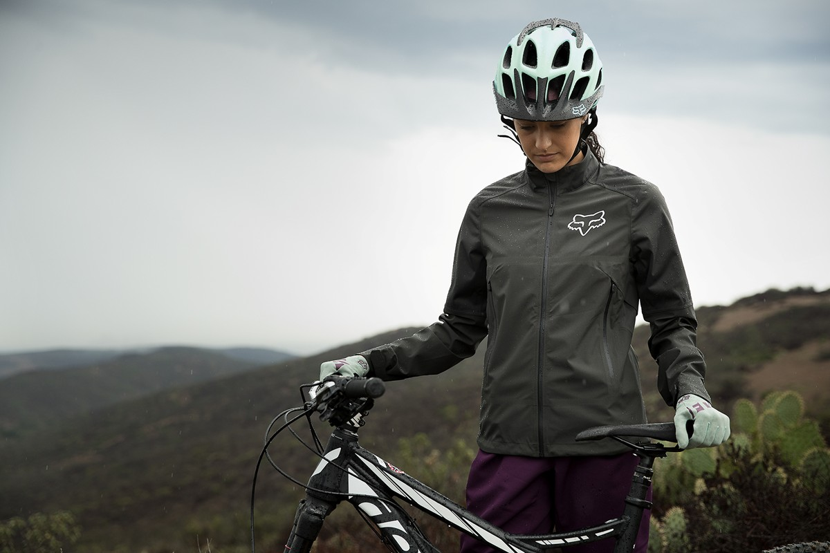 Chaqueta Fox Racing Water Attack para mujer 2018