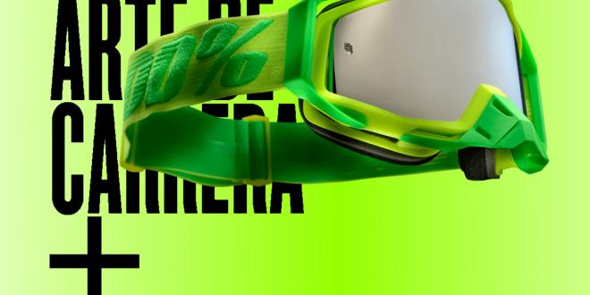 Nueva máscara de protección MTB/BTT 100% Racecraft+