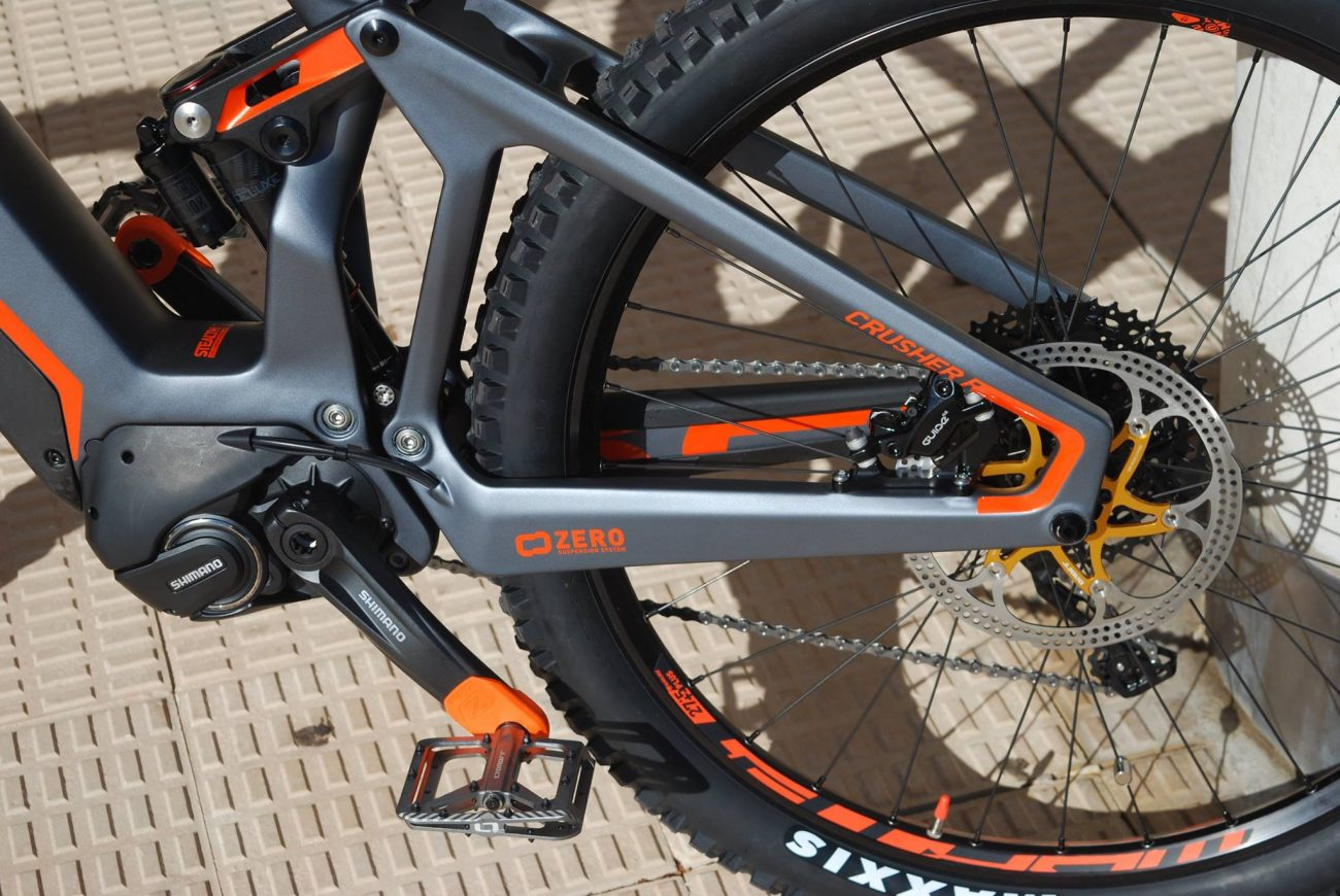 Mondraker E- Crusher Carbon R+ y RR+ 2018 Electric Mountain Bike - de carbono con batería integrada