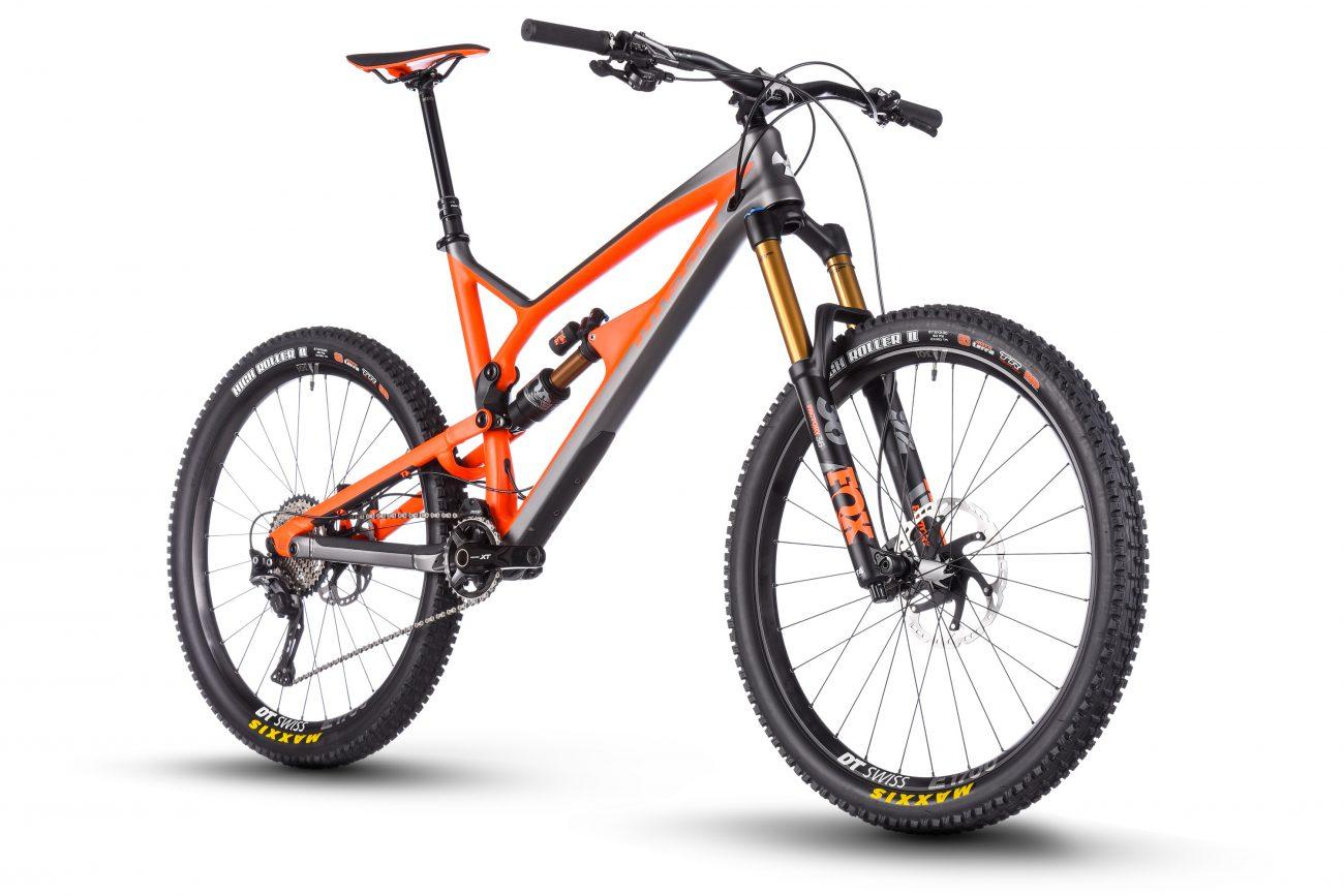 mtb/BTT / Mountain bike - bicicleta de enduro Nukeproof Mega 275 factory 2018