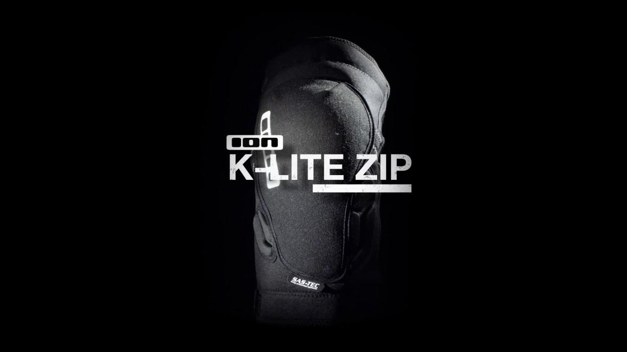 comprar online barato - rodilleras ION K-Pact _Zip