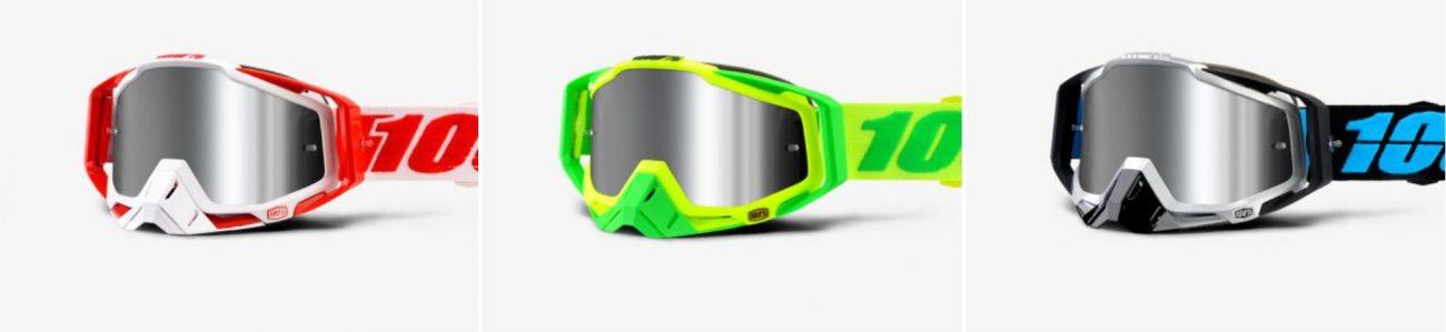 Gafas máscara de MTB 100% Racecraft+ 2018 para Enduro y DH
