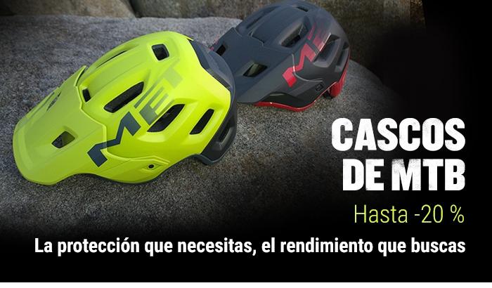 CASCOS MTB