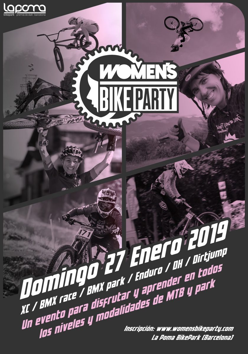 WOMENS BIKE PARTY PRIMER FESTIVAL CICLISTA PARA MUJERES