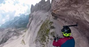 VIA FERATA EN MOUNTAIN BIKE POR KILIAN BRON