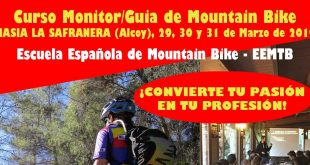 CURSO GUIA MONITOR DE MOUNTAIN BIKE