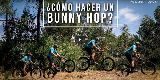 COMO HACER UN BUNNY HOP by TONI FERREIRO