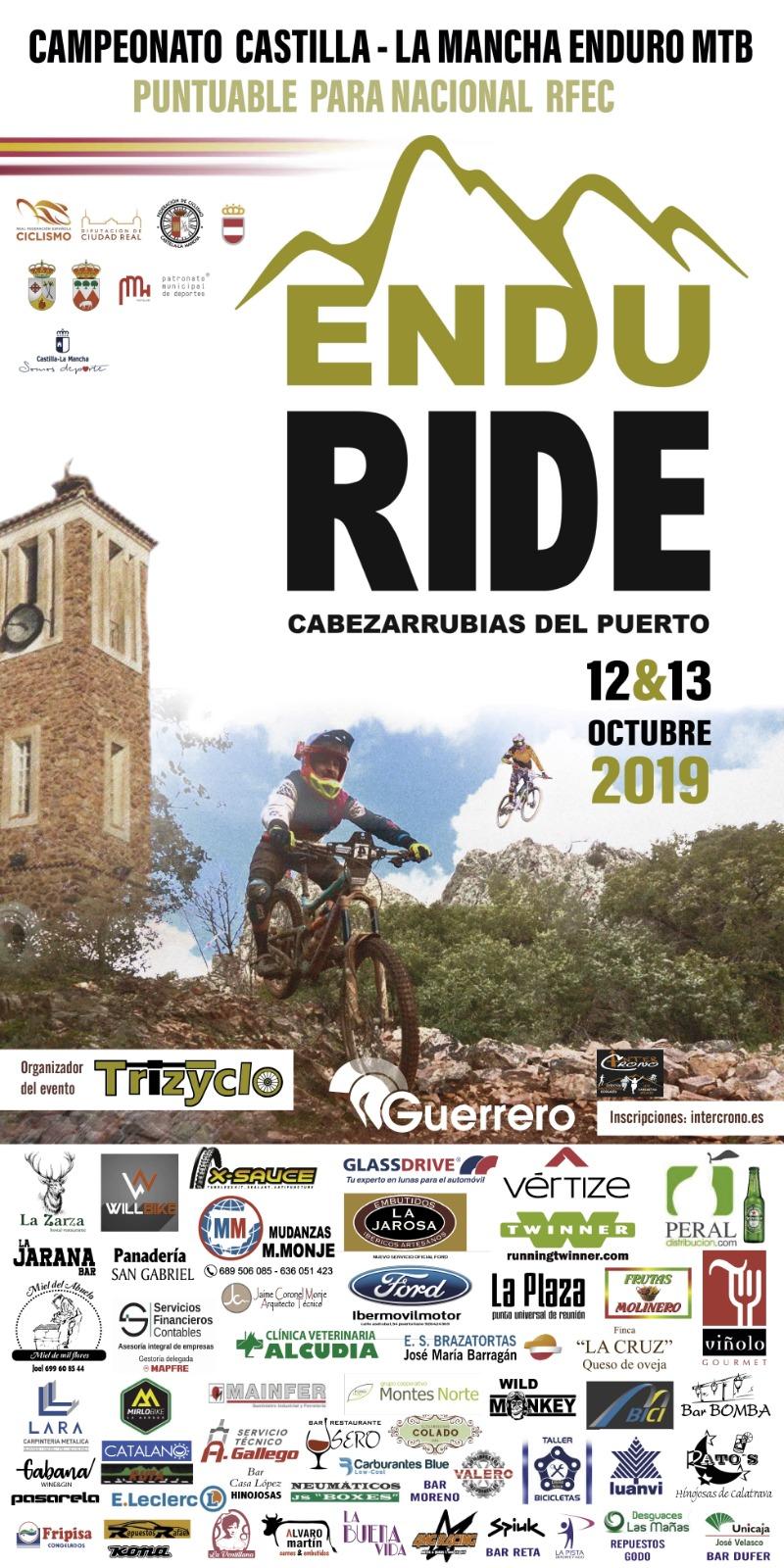 ENDU RIDE - CARRERA ENDURO CAMPEONATO CASTILLA LA MANCHA