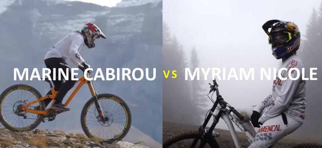 MARINE CABIROU vs MYRIAM NICOLE - DE QUIEN ERES?