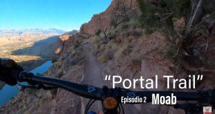 EL ESPAÑOL QUIRI EN LA BAJADA DE ENDURO MTB MAS TERRIBLE DE MOAB - UTAH