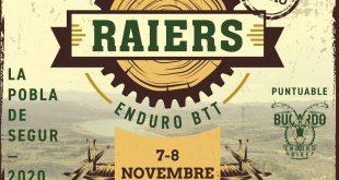 RAIERS ENDURO BTT UN NUEVO FORMATO DE CARRERA DE ENDURO. 7 Y 8 DE NOVIEMBRE