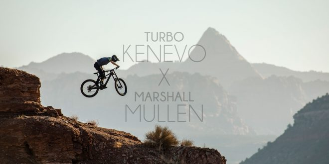 MARSHALL MULLEN REALIZANDO FREERIDE MTB CON LA SPECIALIZED TURBO LEVO