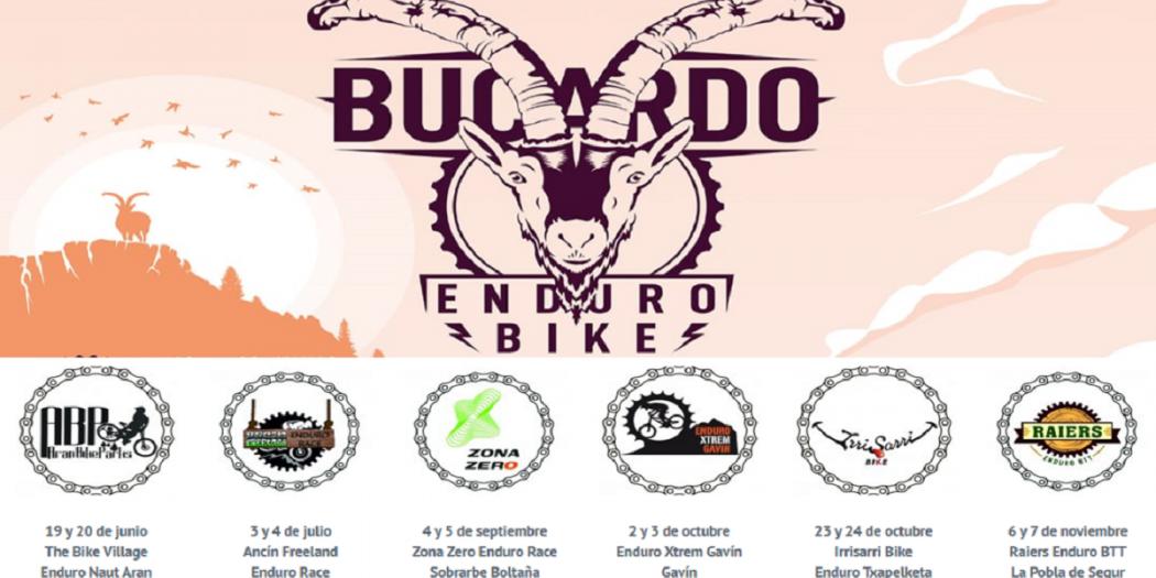 OPEN BUCARDO 2021 ENDURO MTB - 6 CARRERAS CON NUEVO FORMATO